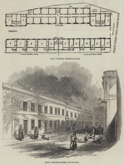 Model Lodging-Houses--Giclee Print