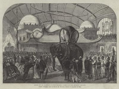 Model of an Elephant in the Siamese Section of the Machine Gallery--Giclee Print
