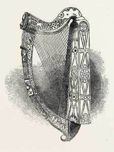 Model of Bryan Boroimbe's Harp, Ball, Dublin, Ireland