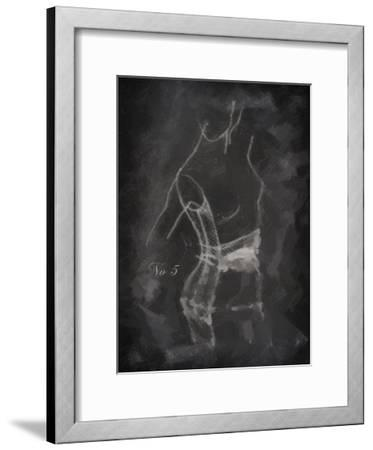 Model Sketch 5-Taylor Greene-Framed Art Print
