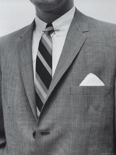 Model Wearing Proper Fashion Suit-Nat Farbman-Photographic Print