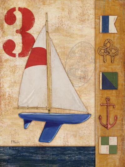 Model Yacht Collage II-Paul Brent-Art Print