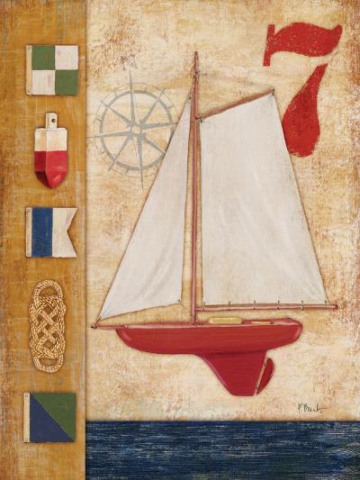 Model Yacht Collage III-Paul Brent-Art Print