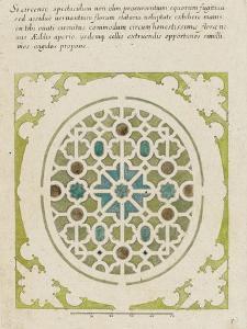 Modèle de parterre de jardin oval