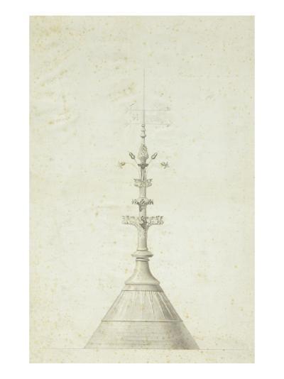 Modèle de poinçon--Giclee Print
