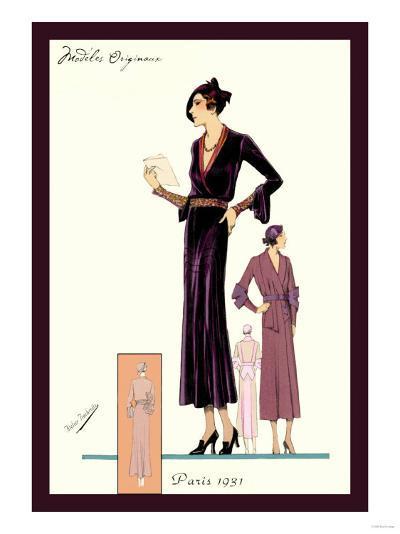 Modeles Originaur: For the Woman about Town--Art Print