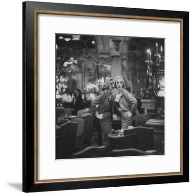 Models Wearing Latest Spring Fashions-Gordon Parks-Framed Premium Photographic Print