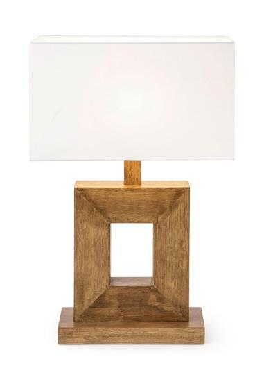 Modena Wood Table Lamp--Home Accessories