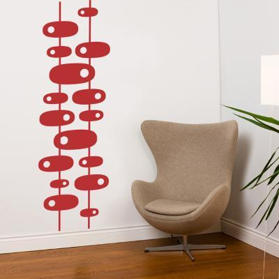 Modern 60s Wall Decal--Wall Decal