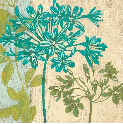 Modern Agapanthus-Stefania Ferri-Art Print