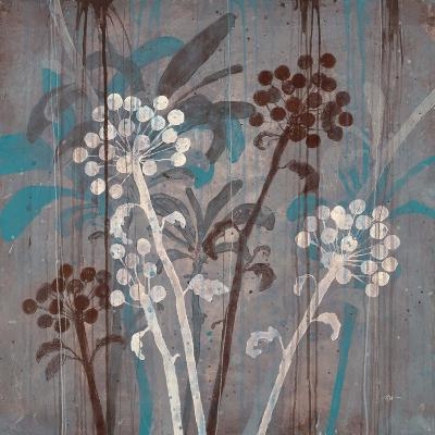 Modern Aqua Floral 2-Filippo Ioco-Art Print