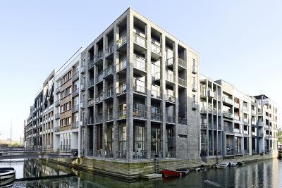Modern Architecture, Apartments in Sluseholmen, Copenhagen, Denmark, Scandinavia-Axel Schmies-Photographic Print