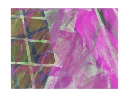 Modern Architecture Fuchsia-Hermione Carline-Giclee Print