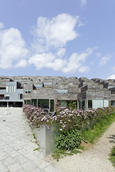 Modern Architecture, Home Construction, Orestad, Island Amager, Copenhagen, Denmark, Scandinavia-Axel Schmies-Photographic Print