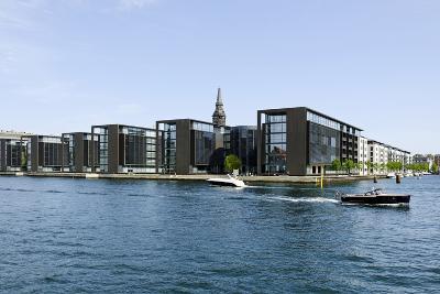 Modern Architecture in the District Christianshavn, Copenhagen, Denmark, Scandinavia-Axel Schmies-Photographic Print