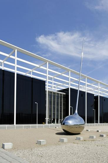 Modern Architecture, Orestad, Island Amager, Copenhagen, Denmark-Axel Schmies-Photographic Print