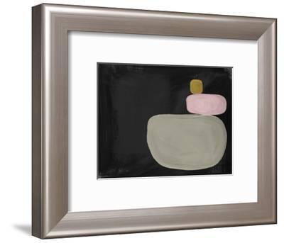 Modern Balance-Linda Woods-Framed Art Print