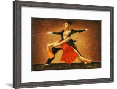 Modern Ballet-Steven Lamb-Framed Art Print