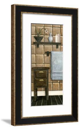 Modern Bath Panel IV-Megan Meagher-Framed Art Print
