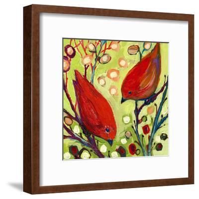 Modern Bird II-Jennifer Lommers-Framed Art Print