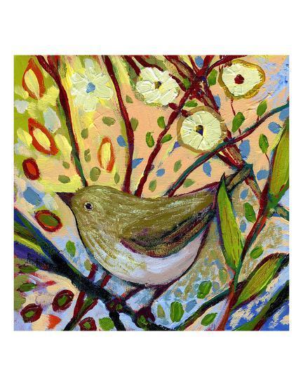 Modern Bird IV-Jennifer Lommers-Art Print