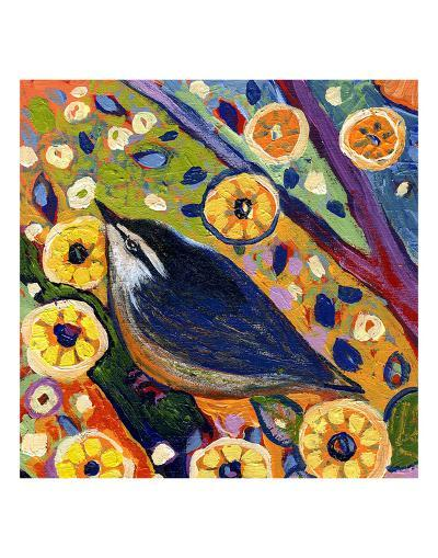 Modern Bird XI-Jennifer Lommers-Art Print