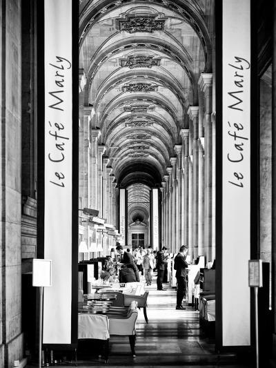 Modern Brewery, Cafe Marly, the Louvre Museum, Glass Pyramids, Paris, France-Philippe Hugonnard-Photographic Print