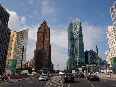 Modern Buildings, Potsdamer Platz, Berlin, Germany--Photographic Print