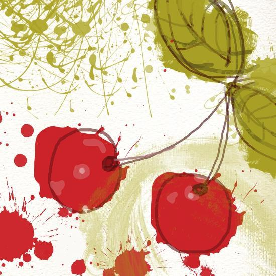 Modern Cherry-Irena Orlov-Art Print