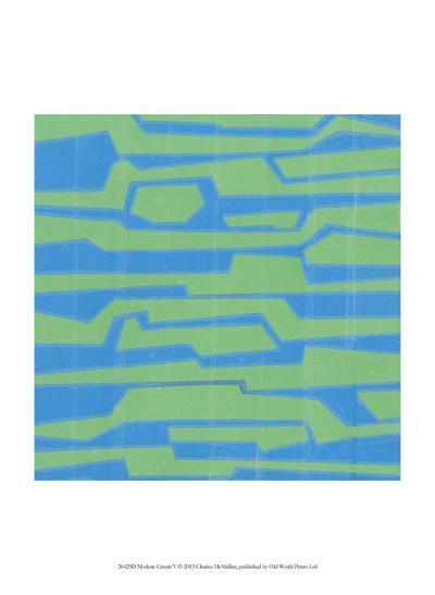 Modern Circuit V-Charles McMullen-Art Print