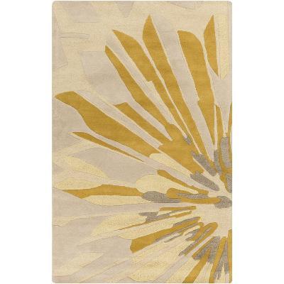 Modern Classics Area Rug - Beige/Gold 5' x 8'--Home Accessories