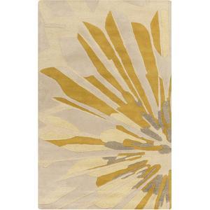 Modern Classics Area Rug - Beige/Gold 5' x 8'