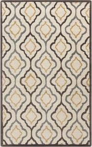 Modern Classics Area Rug - Ivory/Chocolate 5' x 8'