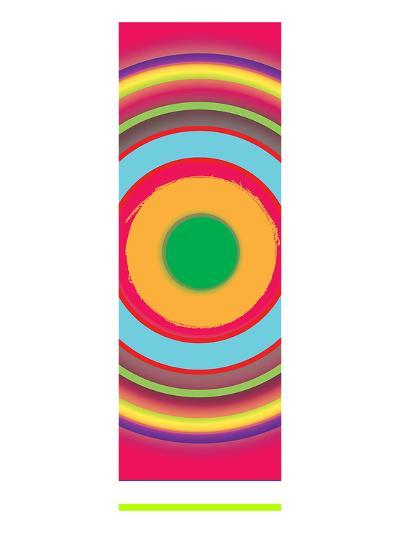 Modern Color Study--Art Print