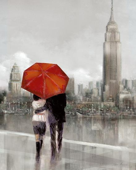 Modern Couple in New York-Ruane Manning-Art Print