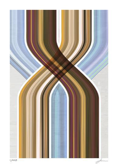 Modern Dancers 3-James Burghardt-Giclee Print