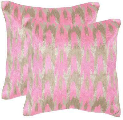 Modern Dazzle Pillow Pair - Pink--Home Accessories