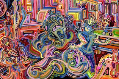 Modern Diplomacy-Josh Byer-Giclee Print