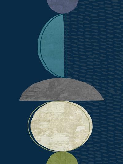 Modern Ellipse 2-Evangeline Taylor-Art Print