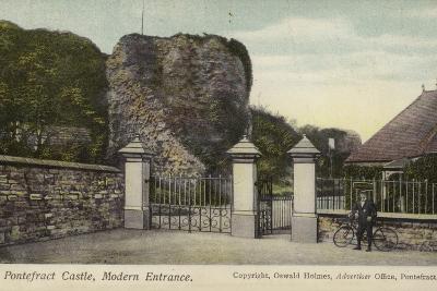 Modern Entrance, Pontefract Castle, Yorkshire--Photographic Print