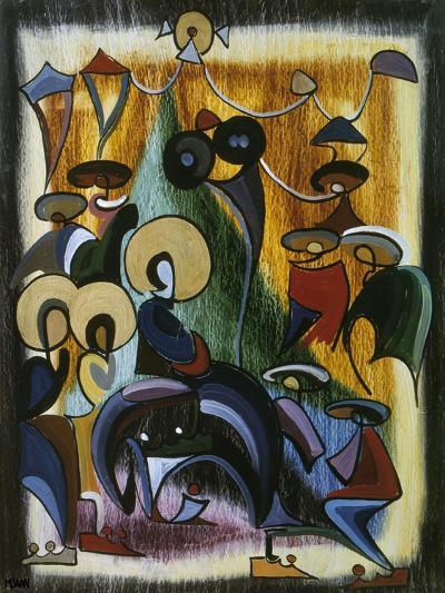 Modern Entry-Vaan Manoukian-Art Print