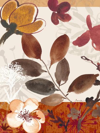 Modern Flowers I-Marietta Cohen-Art Print