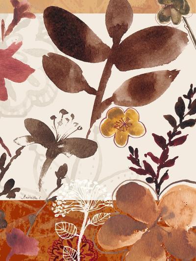 Modern Flowers II-Marietta Cohen-Art Print