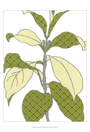 Modern Foliage I-Erica J^ Vess-Art Print