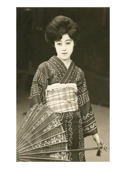 Modern Geisha--Art Print