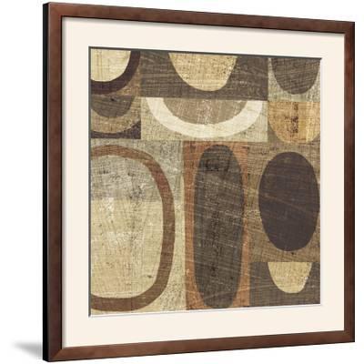 Modern Geometric Neutral I-Michael Mullan-Framed Photographic Print