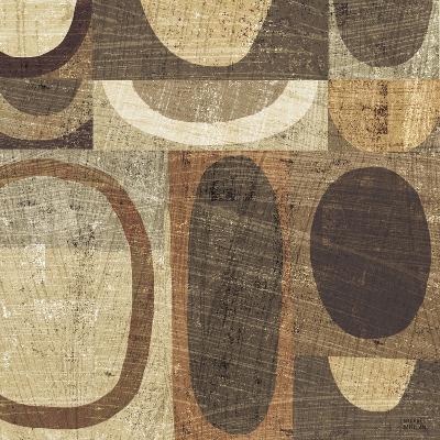 Modern Geometric Neutral I-Michael Mullan-Art Print