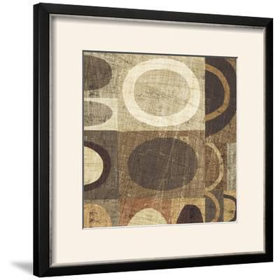 Modern Geometric Neutral II-Michael Mullan-Framed Photographic Print