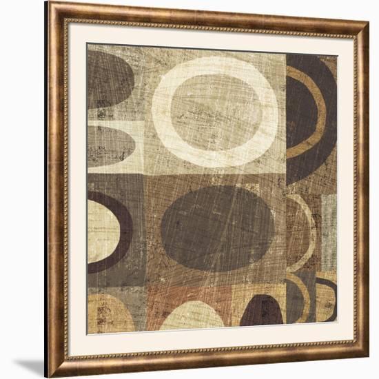 Modern Geometric Neutral II-Michael Mullan-Framed Photographic Print