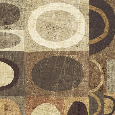 Modern Geometric Neutral II-Michael Mullan-Art Print